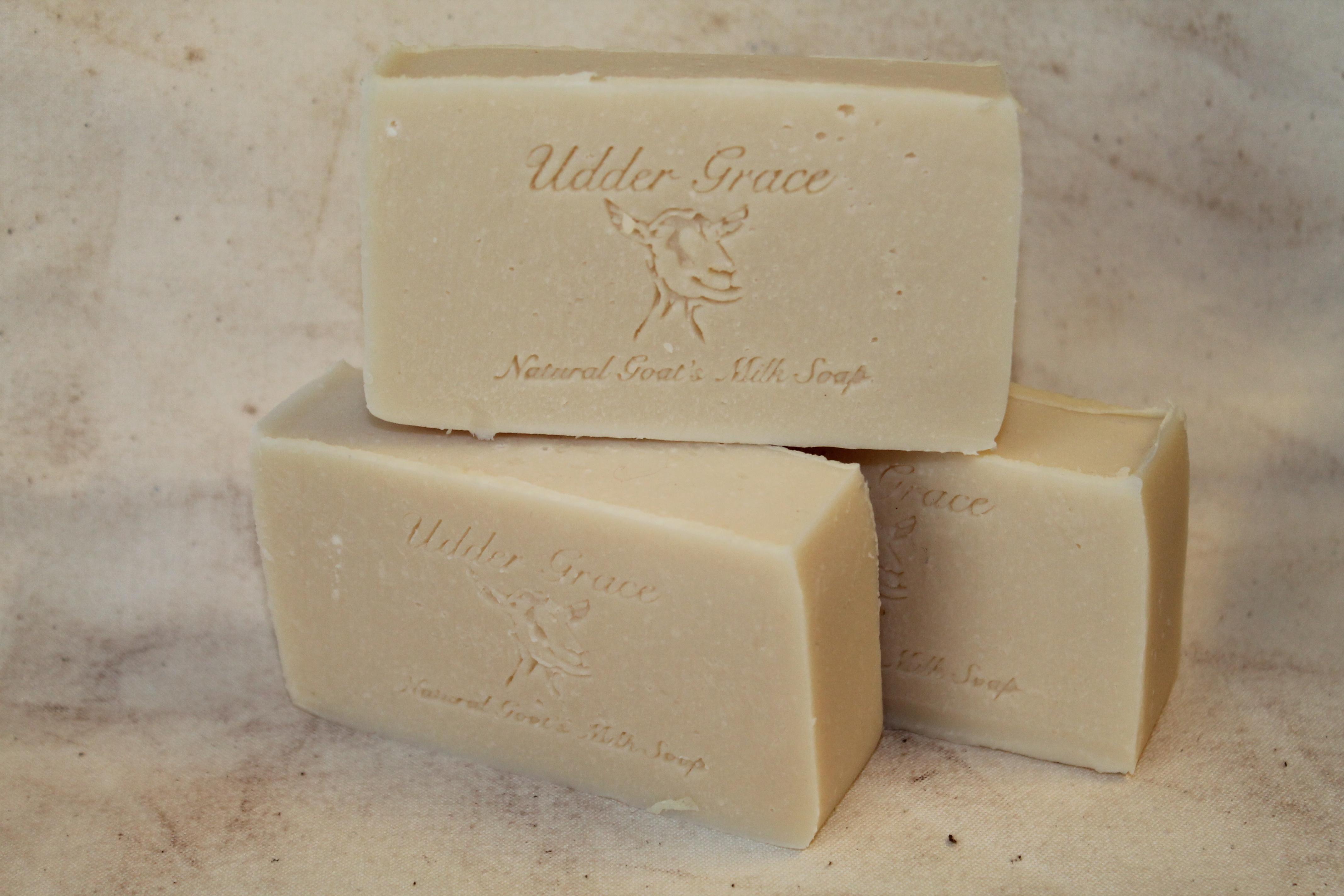 Plain Jane homemade soap with goat milk