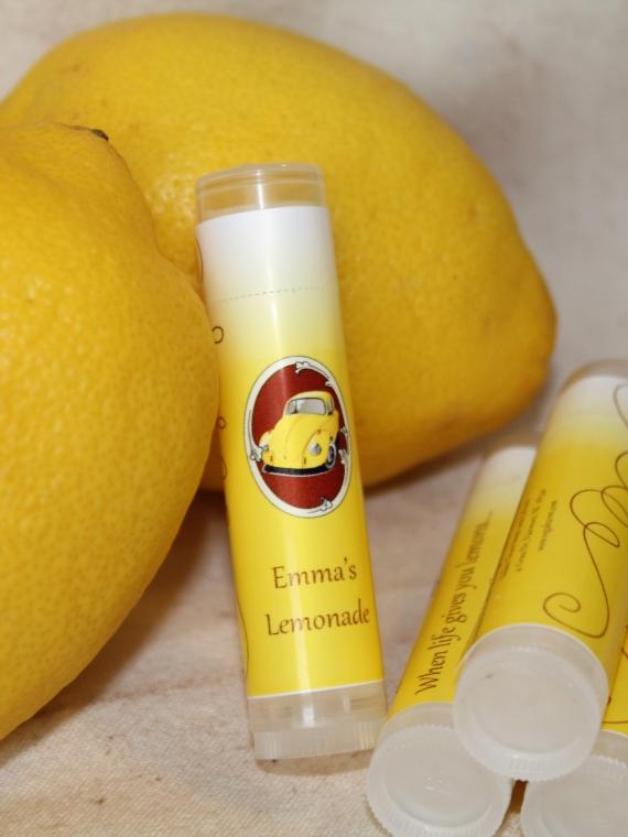Emma's lemonade lip balm