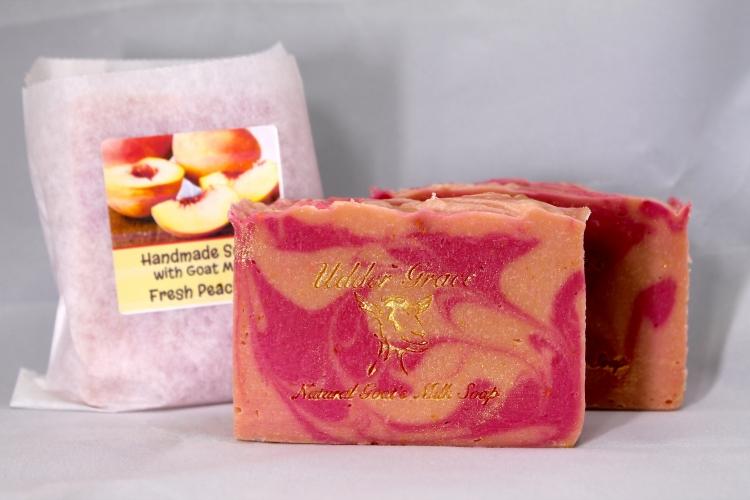 Fresh Peaches Goat Milk Soap