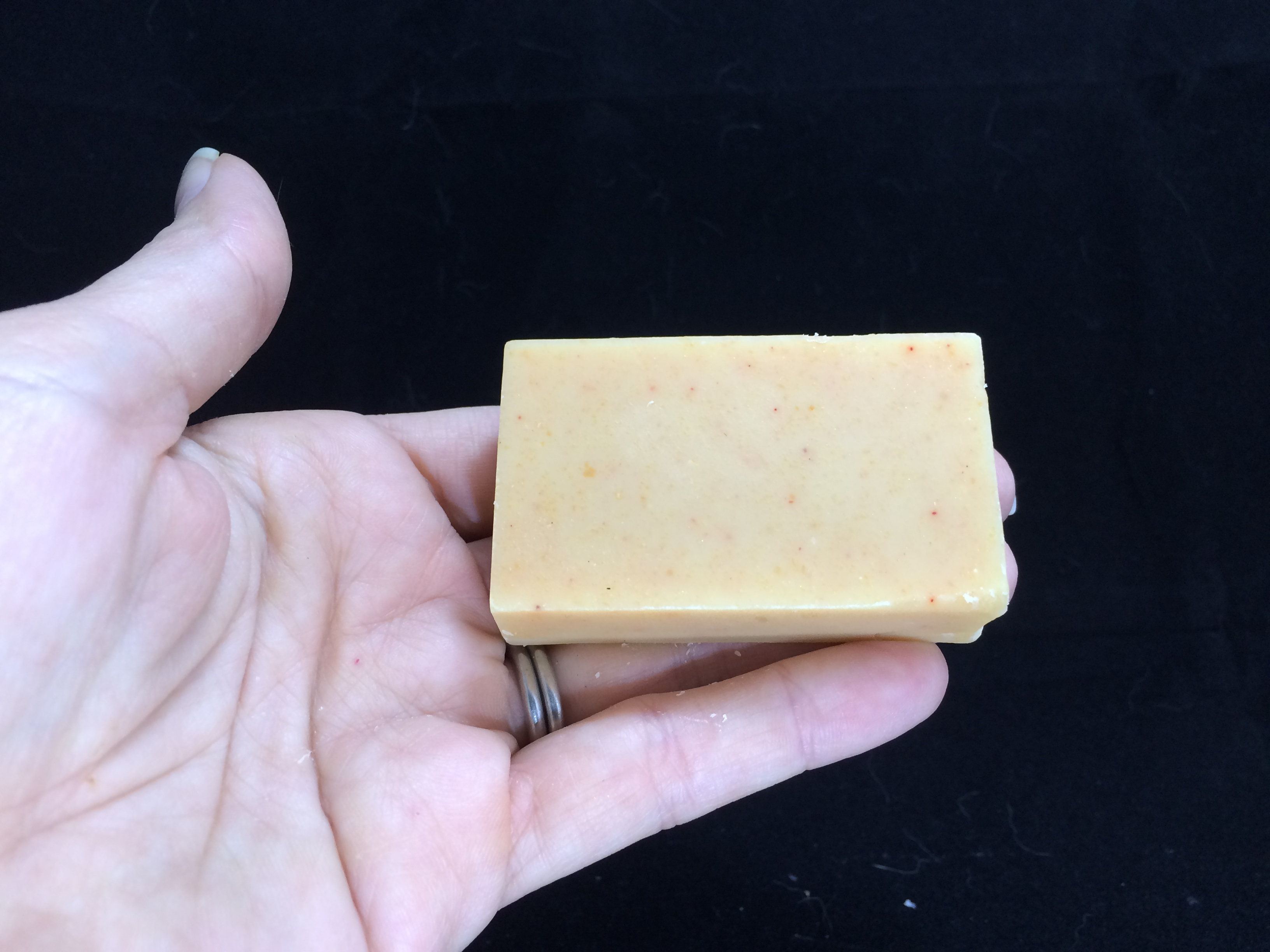 Uplifting trial size soap bar