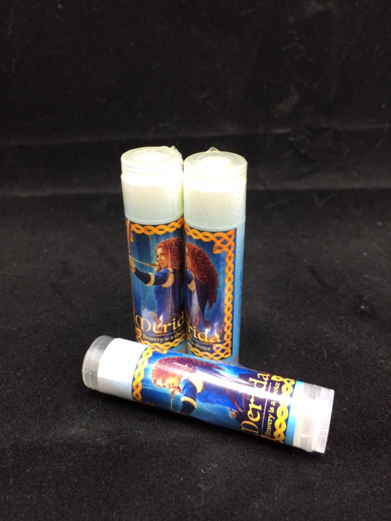 merida's Raspberry lip balm