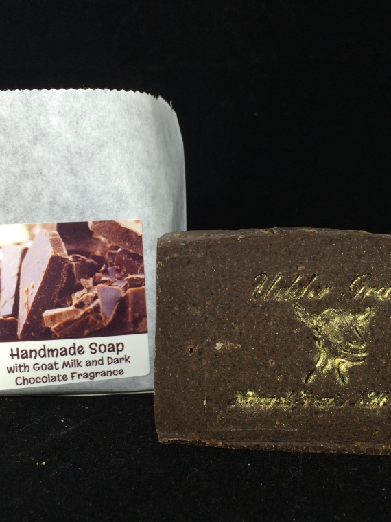 dark chocolate soap