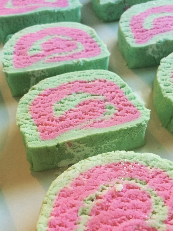 Bubble Bath Bars in Watermelon Twist Scent
