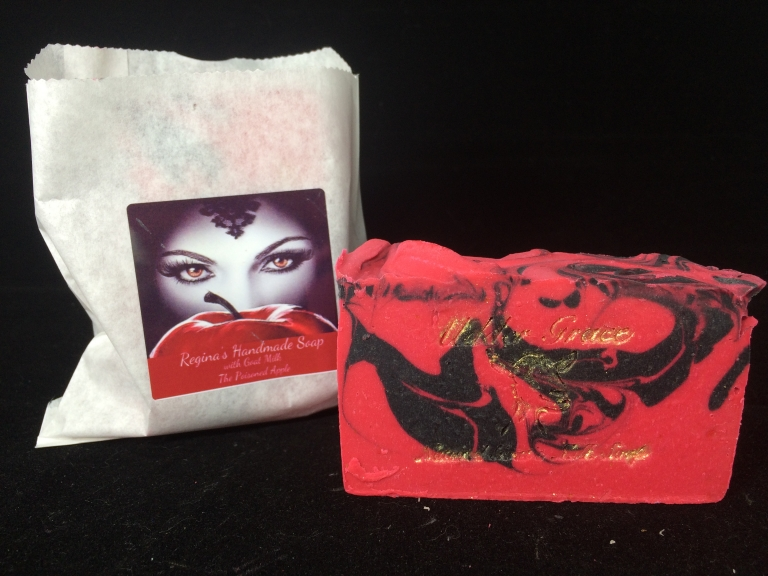 Regina's Poisoned Apple Soap inspired by Once upon a Time