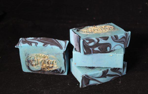 salty pirate goat milk soap