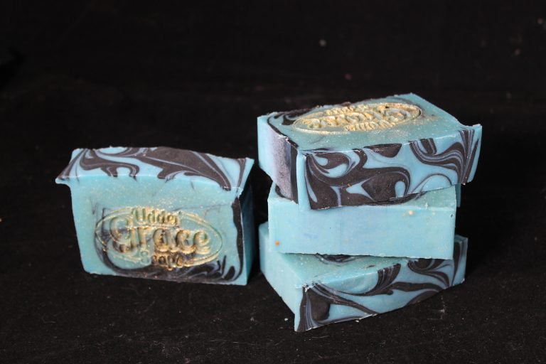 salty pirate goat milk soap