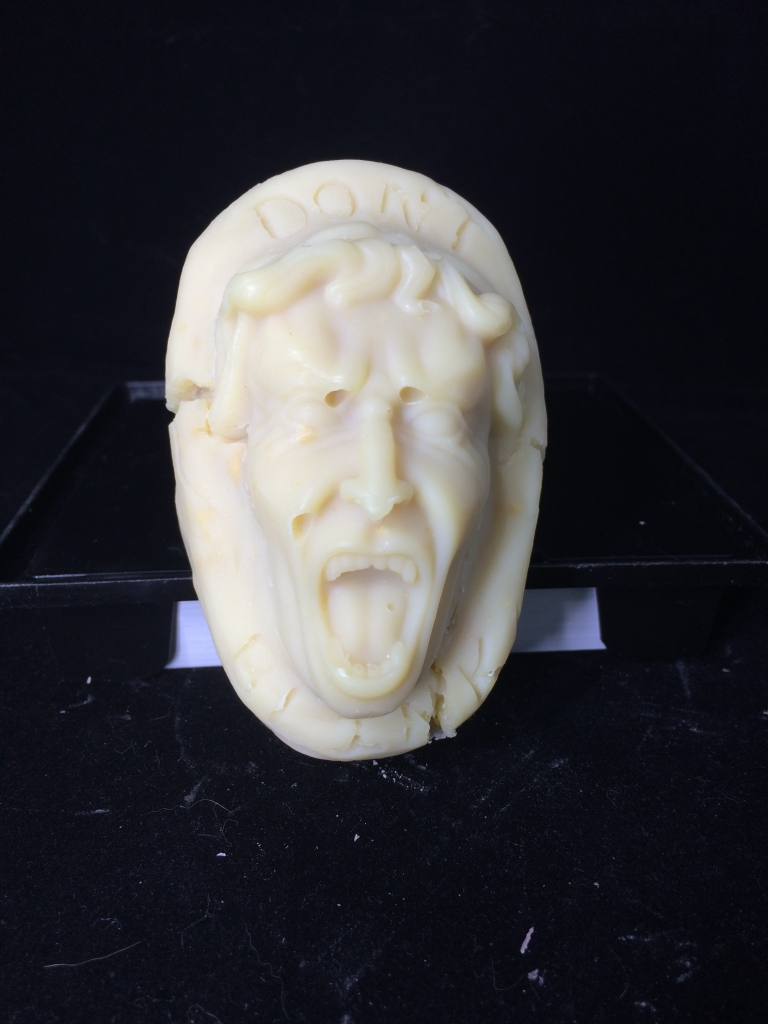 don't blink molded handmade soap