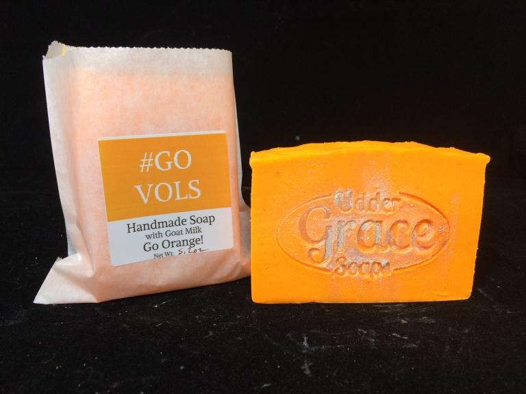 Tennessee Orange Goat Milk Soap - Go Vols!