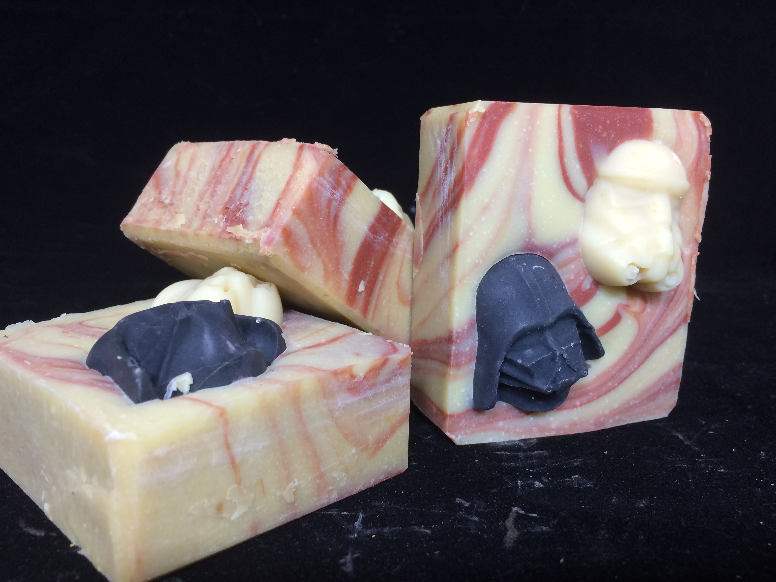 Dark Side Soap with radar and storm trooper