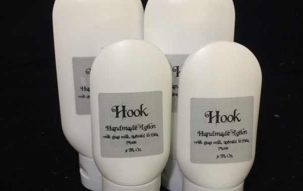 sea moss hook themed lotion with goat milk