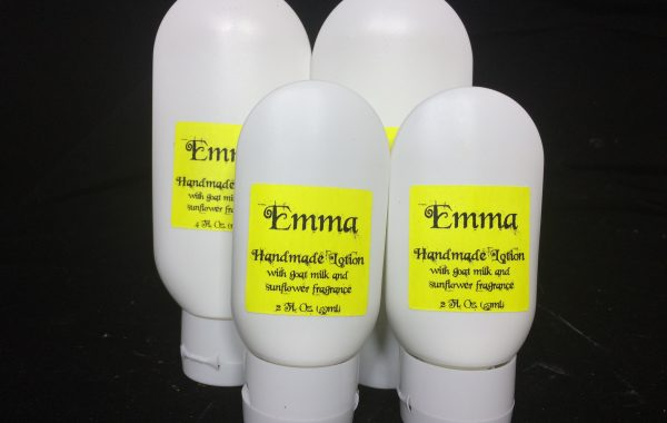 Handmade lotion with goat milk Emma
