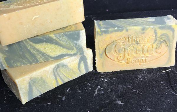 lemon eucalyptus goat milk soap