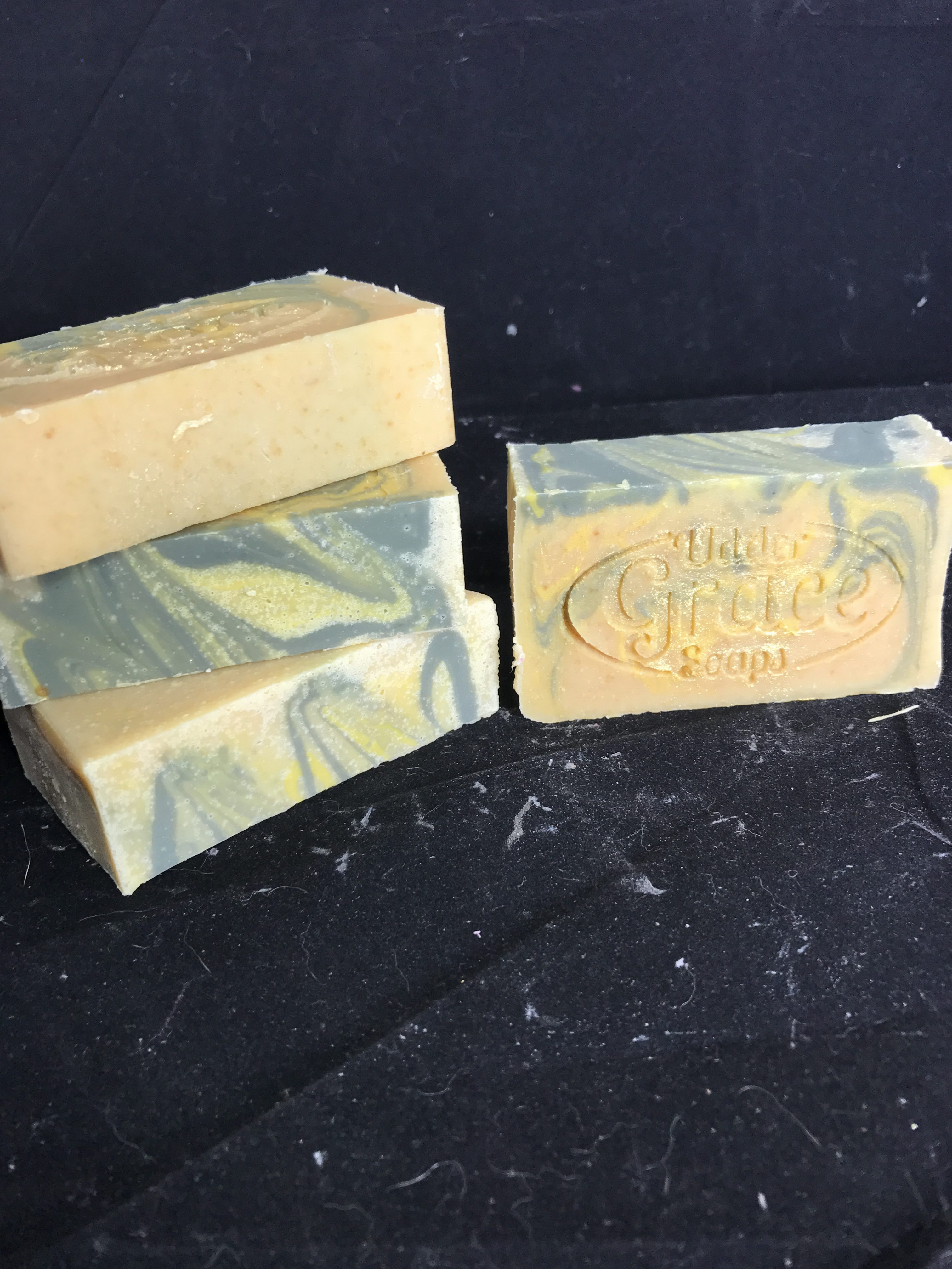 lemon eucalyptus goat milk soap